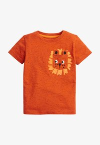 Next - Print T-shirt - orange - 0