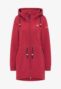 Schmuddelwedda - Zip-up hoodie - rot - 4