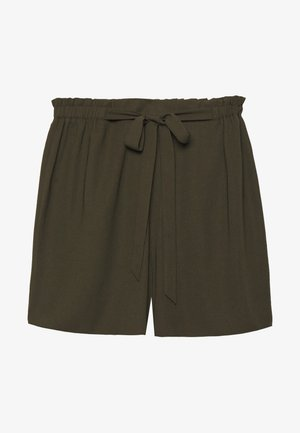 TIE WAIST - Short - khaki