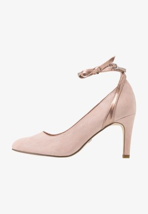 Klassieke pumps - rose metallic