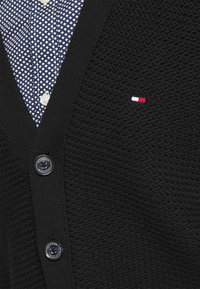 Tommy Hilfiger Tailored - RACKED  - Cardigan - black - 5