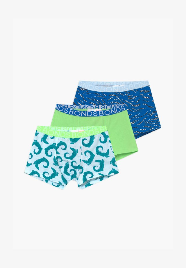 TRUNK 3 PACK - Shorty - blue/green
