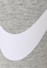 Nike Sportswear - Leggings - grey heather/white - 6