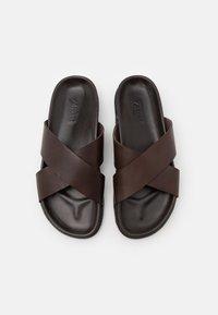 Zign - Pantofle - dark brown - 3