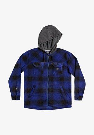 Fleece jacket - ultramarine superswell plaid
