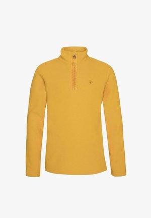 PERFECTY - Fleece jumper - dark yellow