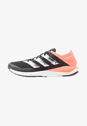 RAPIDAFAITO SUMMER.RDY - Závodní běžecké boty - core black/footwear white/signal coral