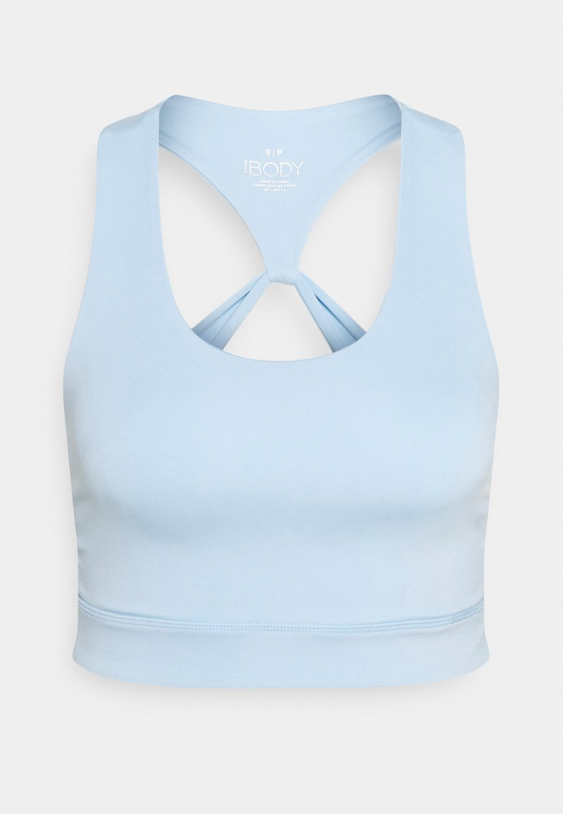 Cotton On Body - LIFESTYLE LOOP CROSS BACK VESTLETTE - Reggiseno sportivo - baby blue