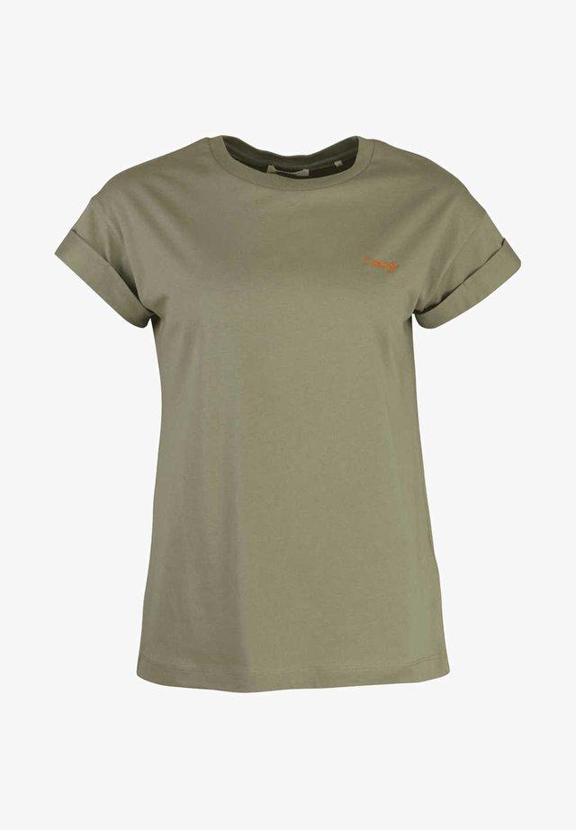 UMSCHLAG - Basic T-shirt - grün - petrol