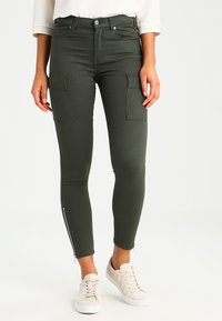 Dr.Denim - DEZIE  - Jeans Skinny Fit - riot green - 0