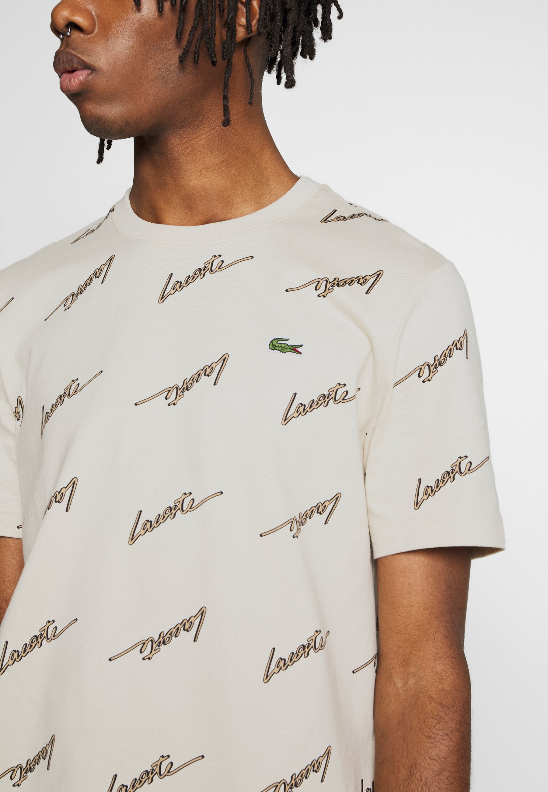 Lacoste LIVE Print T-shirt - marten/viennese O4VBN