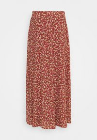 ONLY - ONLPELLA SKIRT - Maxi skirt - mineral red - 1