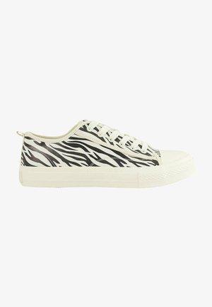 Sneakers laag - zebra
