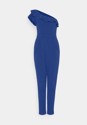 MILAN ONE SLEEVE JUMSPUIT - Jumpsuit - electric blue
