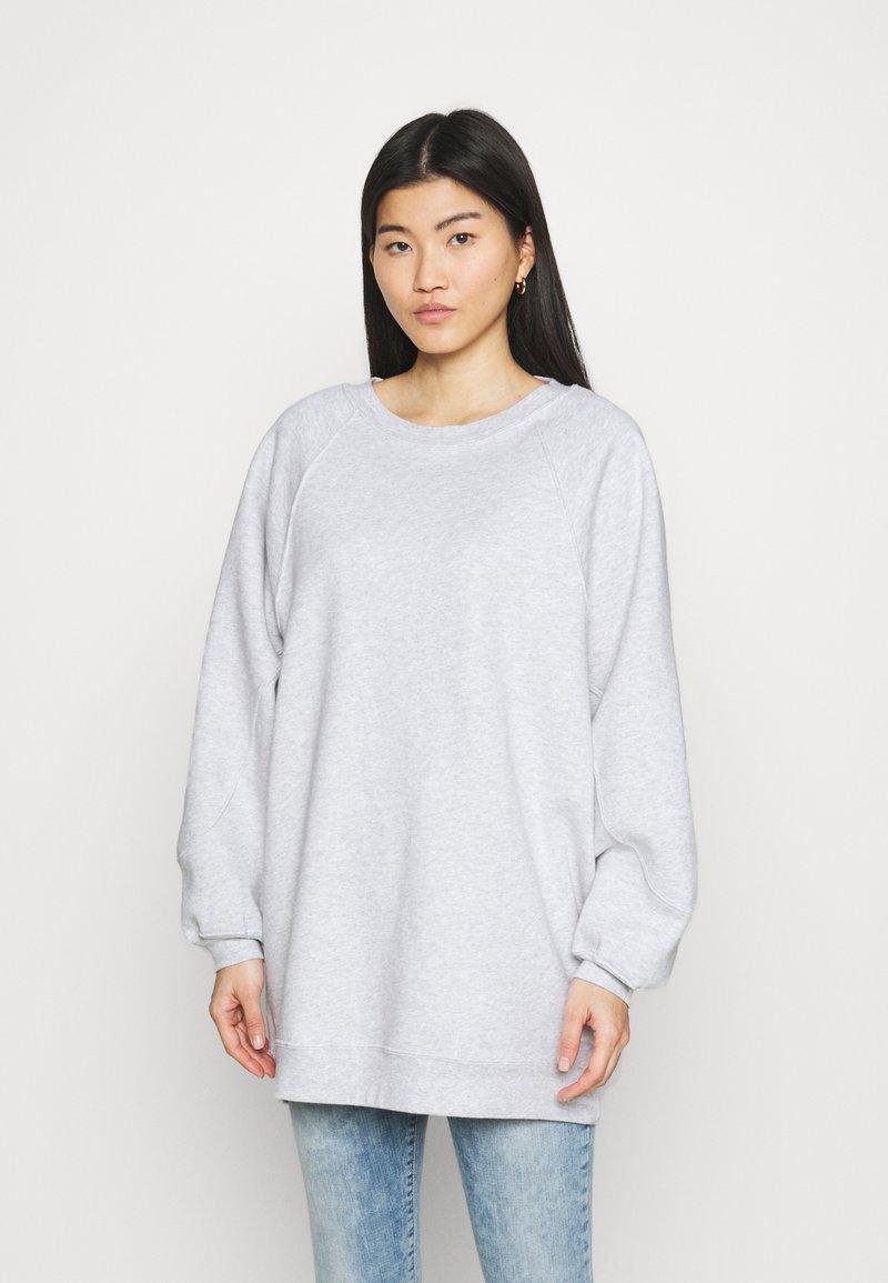 American Vintage - BEATOWN - Sweatshirt - gris clair chine