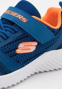 Skechers - BOUNDER - Trainers - blue/black/orange/lime - 5