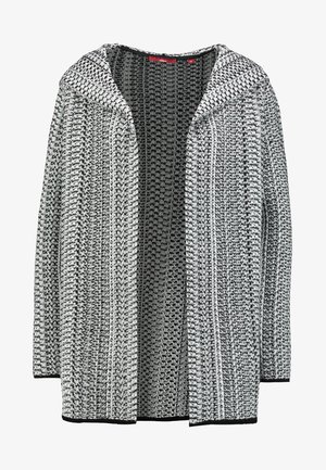 Cardigan - silver grey melange