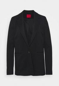 HUGO - ANELAS - Short coat - black - 0