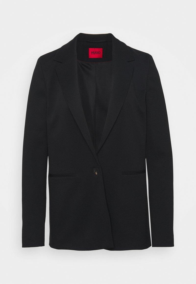 HUGO - ANELAS - Short coat - black