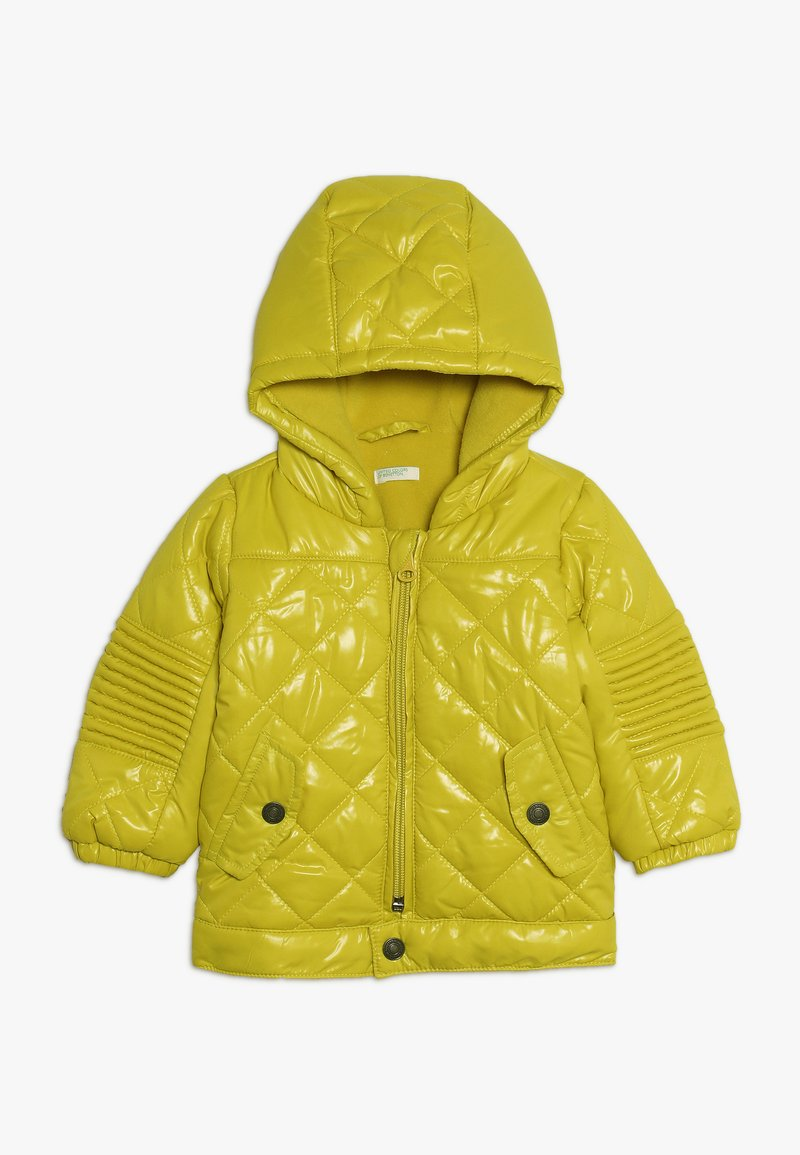 Benetton - JACKET - Winter jacket - yellow