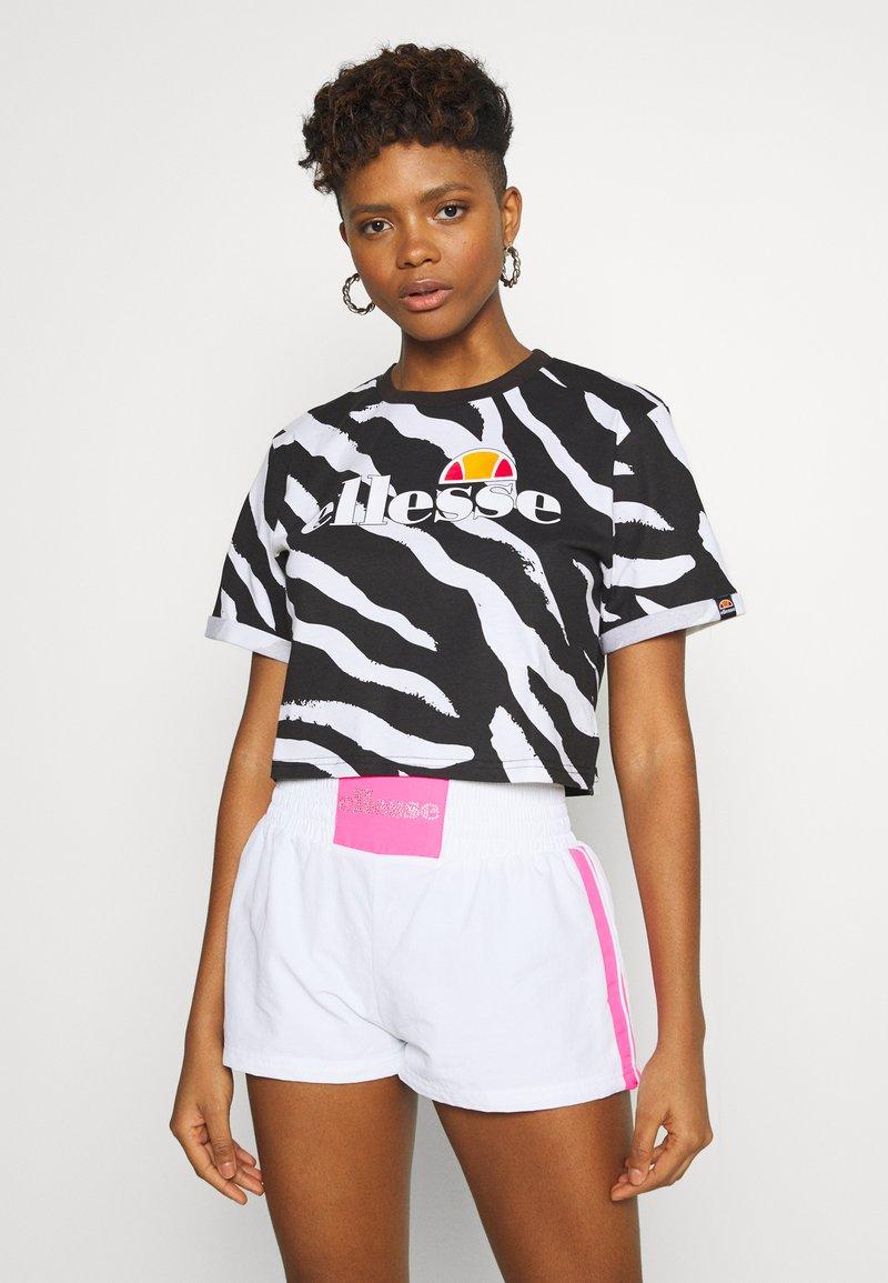 Ellesse - RERTA - Camiseta estampada - black