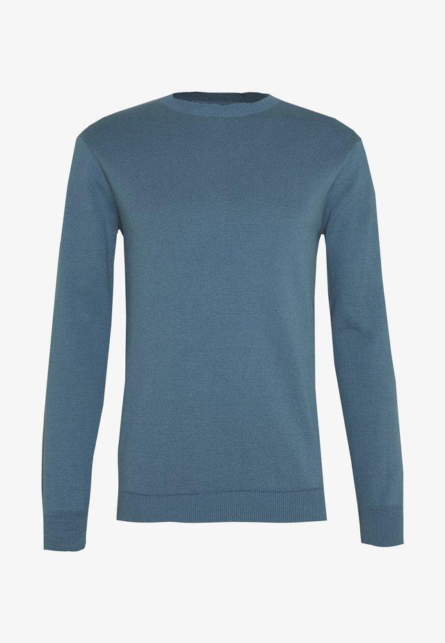 PEER - Pullover - bluestone
