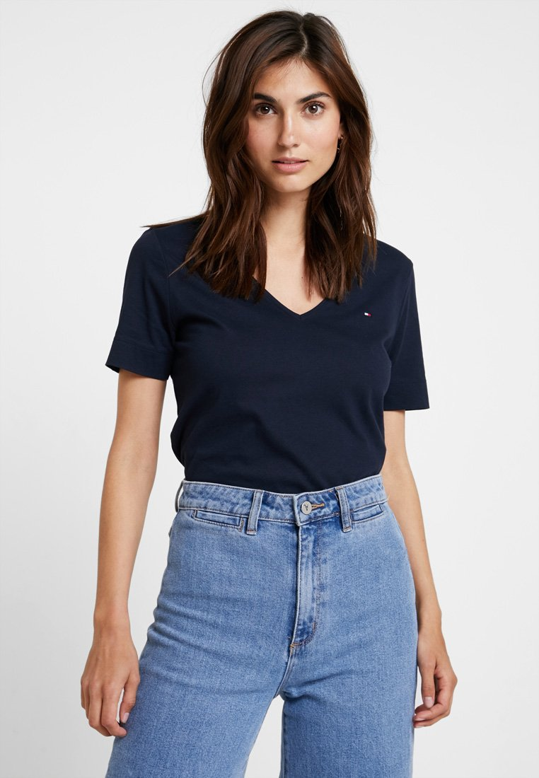 Tommy Hilfiger - NEW LUCY - T-shirt basique - blue