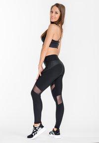 Zoe Leggings - SHADOW LEOPARD - Leggings - black - 1