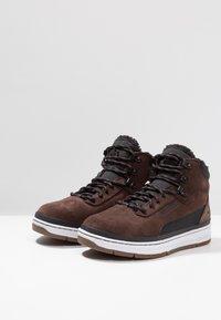 Park Authority - Sneakers hoog - dark brown/black - 2