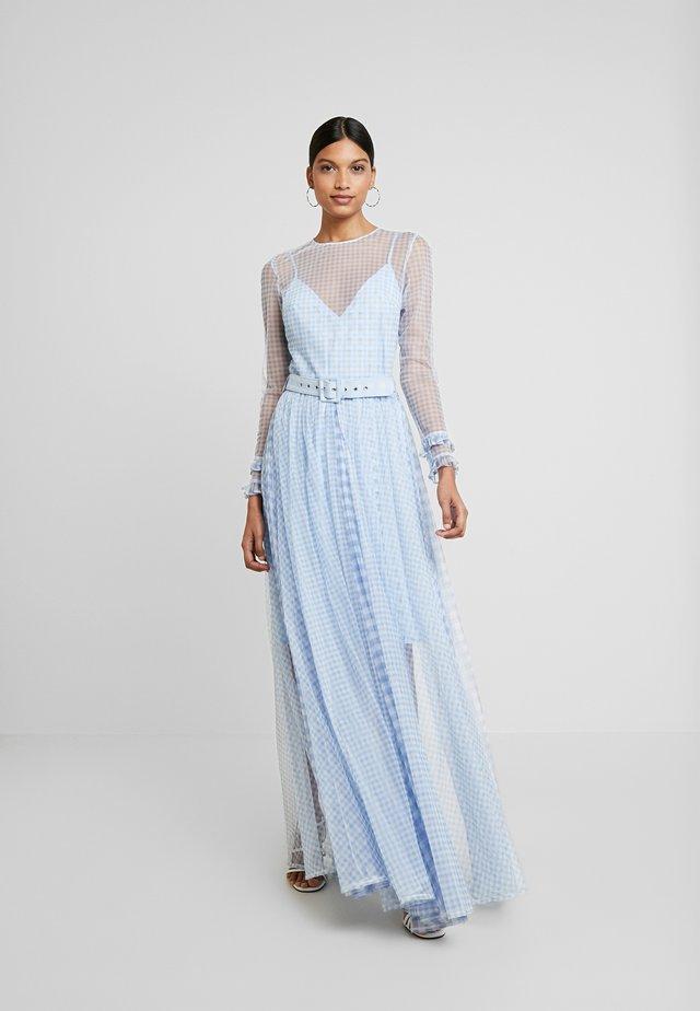 VALENCIA DRESS - Długa sukienka - cornflower