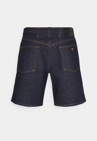 Emporio Armani - Denim shorts - dark blue - 7