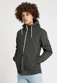 REVOLUTION - HOODED JACKET - Summer jacket - army - 0