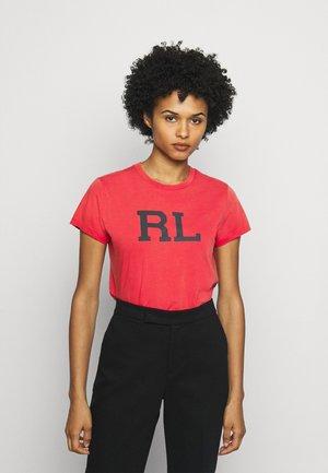 SHORT SLEEVE - Camiseta estampada - evening post red