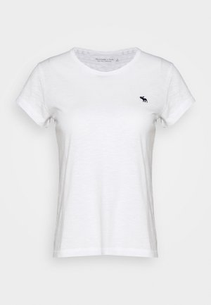 ICON CREW TEE - T-shirts - white