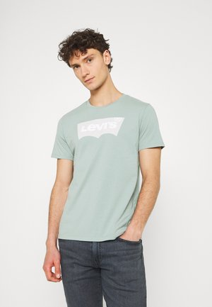 HOUSEMARK GRAPHIC TEE - T-shirt print - blue surf