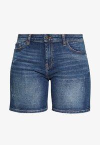 edc by Esprit - Denim shorts - blue medium wash - 4