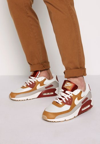 AIR MAX 90 - Sneakers - rugged orange/sail/wheat/light brown