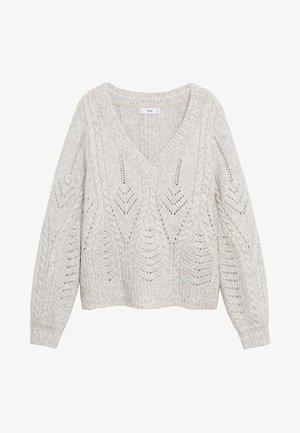ROSETTA - Sweter - grau