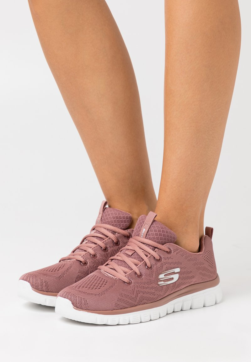 Skechers Sport - GRACEFUL - Trainers - mauve