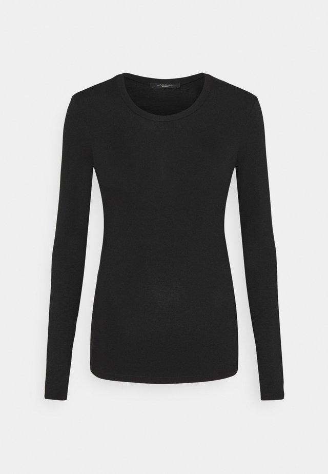 MULTIE - Long sleeved top - schwarz