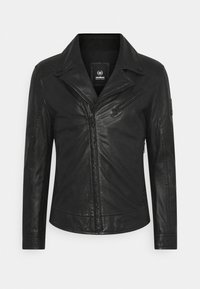 Strellson - PARKS - Leather jacket - black - 8