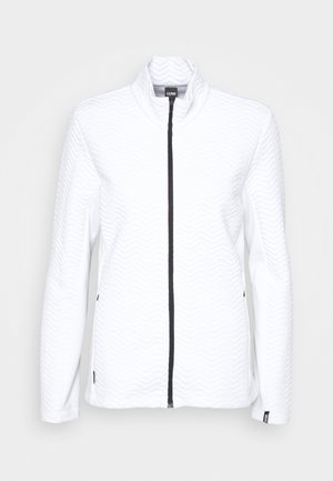 LADIES - Fleece jacket - white