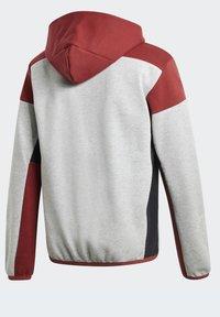 adidas Performance - Zip-up hoodie - grey - 11