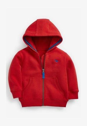 ESSENTIAL - Zip-up hoodie - red