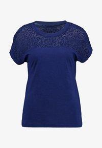 ONLY - ONLBURNOUT - Basic T-shirt - blue - 4