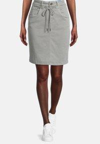 Cartoon - Pencil skirt - dusty pine - 0