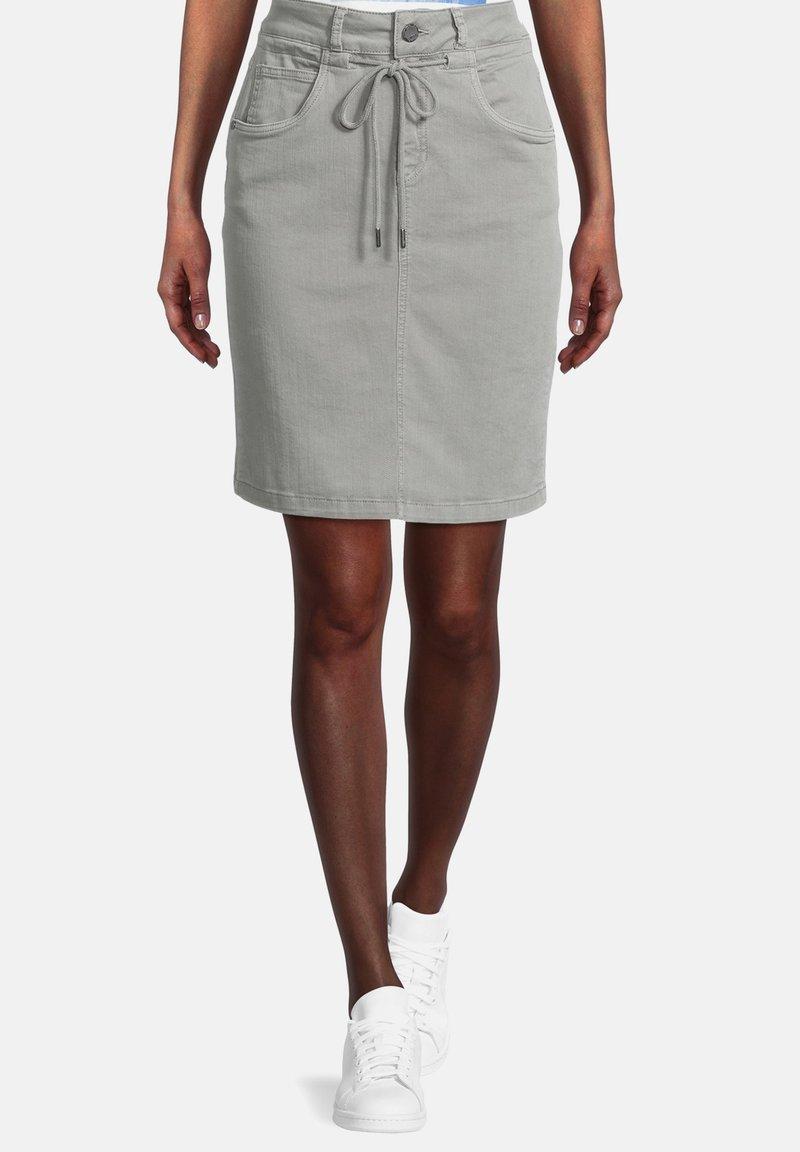 Cartoon - Pencil skirt - dusty pine
