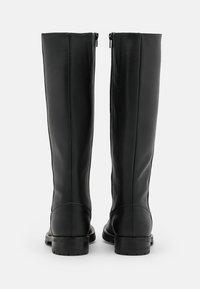NAE Vegan Shoes - LOU - Vysoká obuv - black - 3