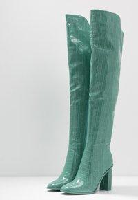 RAID - CYNTHIA - Stivali con i tacchi - turquoise - 4