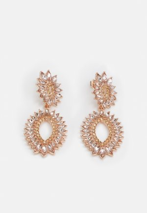 PCSELMA EARRINGS - Earrings - rose gold-coloured